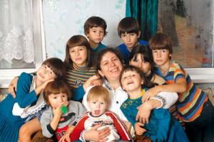 Светлана Голякова, вдова священника, мать 12-ти детей