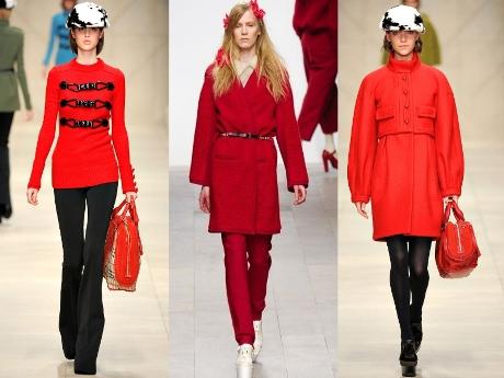 Красный цвет в одежде женщины психология