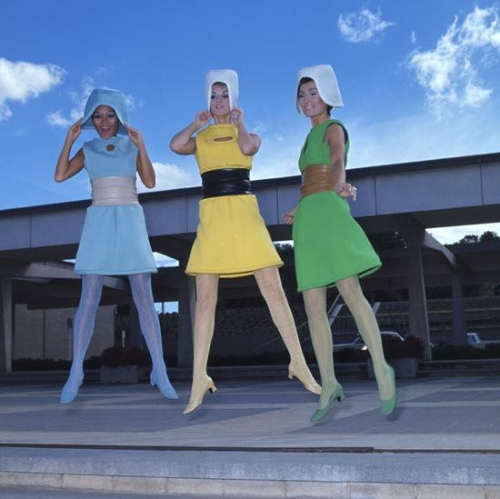 Авангард - стиль на грани моды, для самых смелых дам