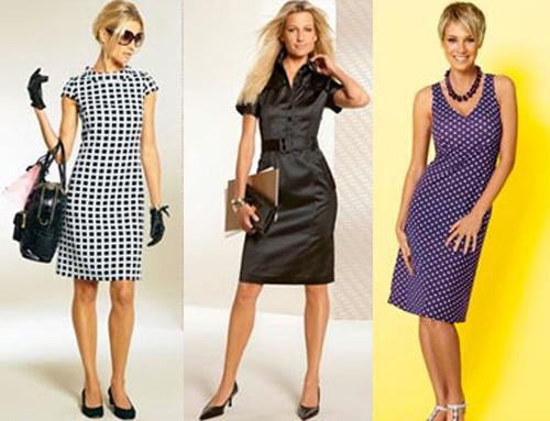 Модные бренды и платья делового стиля. Деловой дресскод для женщины