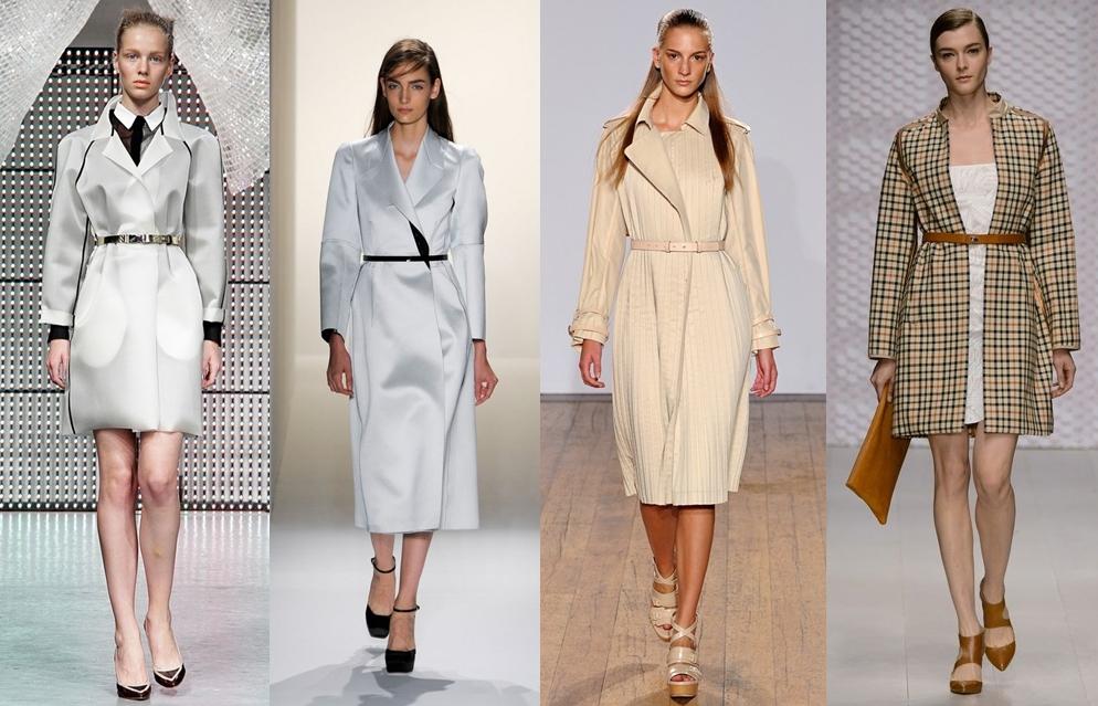 Женская верхняя одежда весна 2013