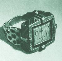 Перстень. XII век. Киевский исторический музей