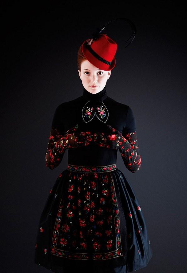 Женская одежда в стиле фолк