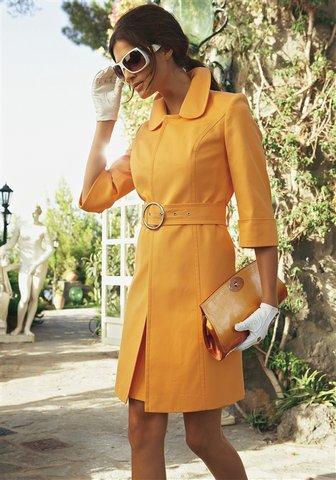 Фото платья с летним пальто
