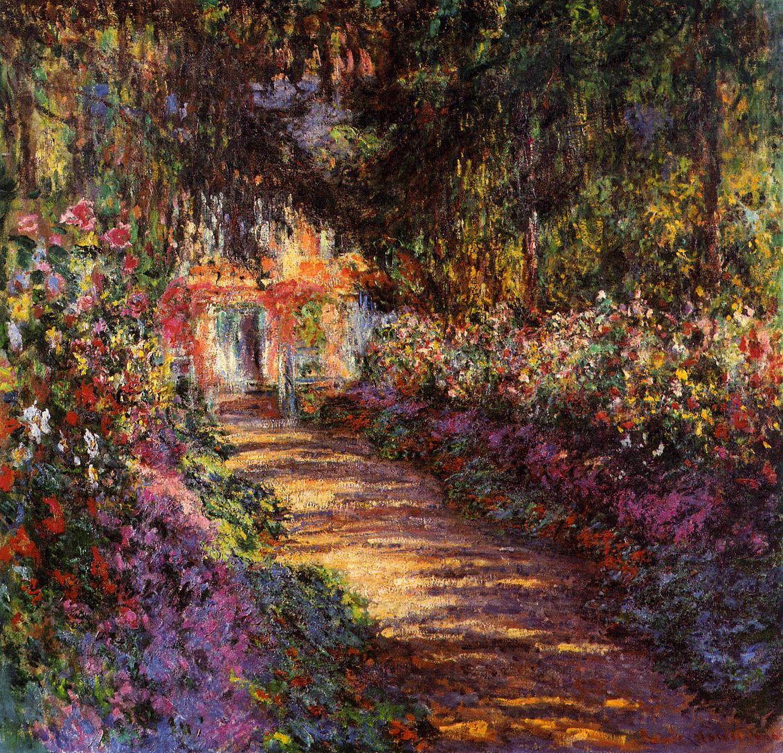 Клод Моне. Дорожка в саду художника. 1902