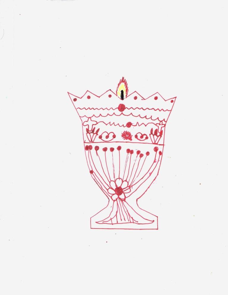 Рисуем лампаду