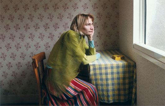 русская одинокая дама развела молодого