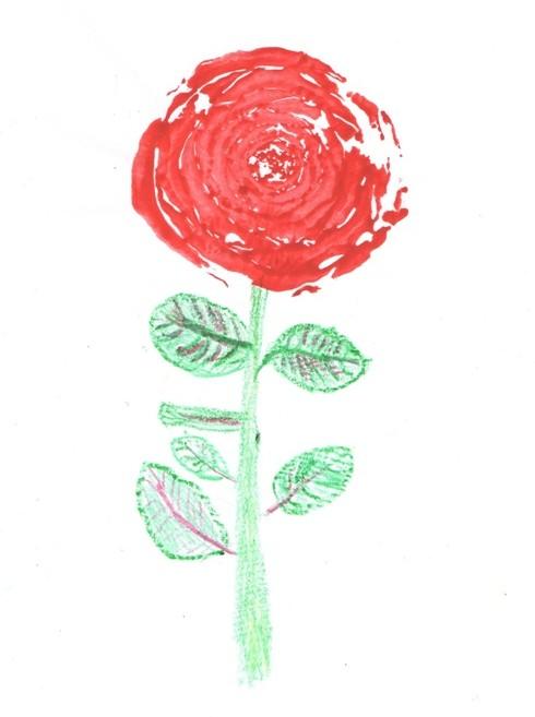 Рисуем розы