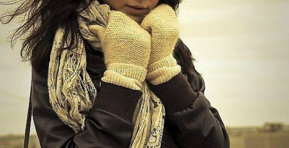 Картинки одиноких девушек зимой